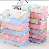 Kids 6 Layer Pure Cotton Baby Bath Towel
