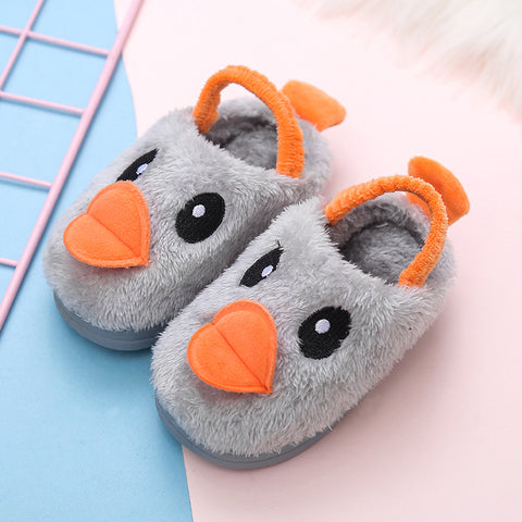 Girl Warm Cotton Slippers