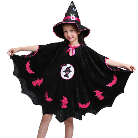 Halloween Children Costumes for Masquerade Pretty Black