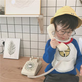 Boy Doraemon Cotton Knit Sweater