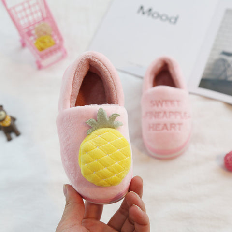 Girl Cotton Slippers