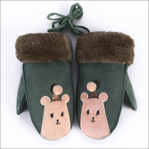 Children Winter Cartoon Warm Gloves