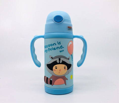 Children Cartoon Stainless Steel Mug