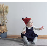 Boy Cartoon Bear Knit Hat