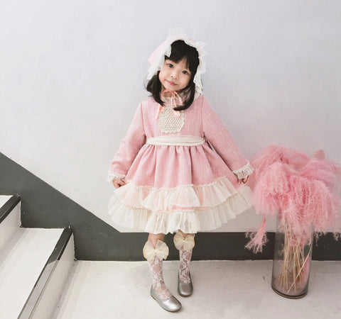Girl European and American Style Dress