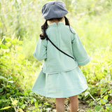 Children Autumn and Winter Version of Tang Suit
