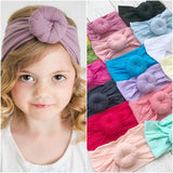 Baby Girl Soft Silk Nylon Ball Headband Hair Accessories