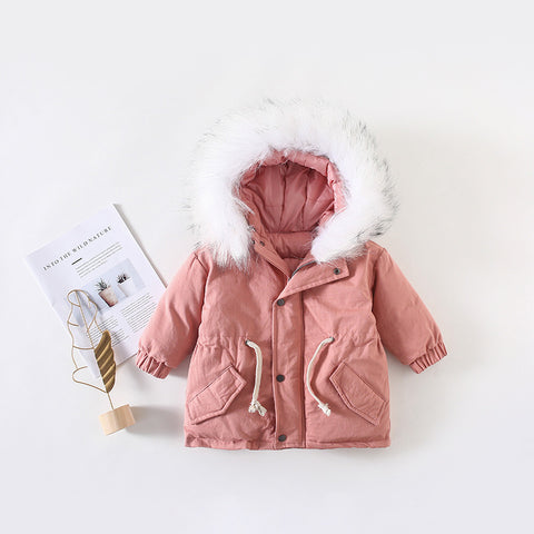 Children Thickened Cotton Jacket