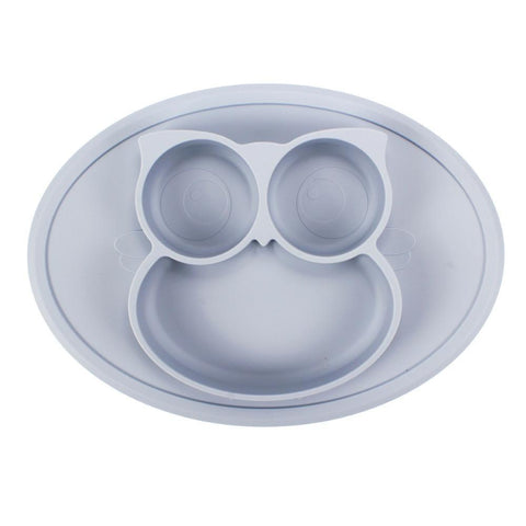 Baby Animal Shape Silicone Plate