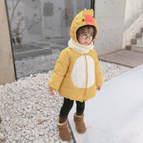 Baby Winter Yellow Duck Coat
