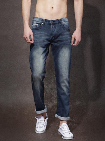Roadster Men Blue Slim Fit Stretchable Jeans