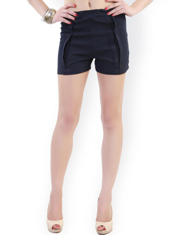 Belle Fille Women Navy Shorts