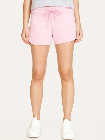 WEST VOGUE by Zivame Women Pink Solid Regular Fit Regular Shorts
