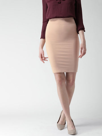 FOREVER 21 Dusty Pink Pencil Skirt