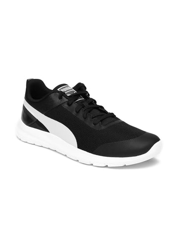 Puma Men Black Trax Sneakers