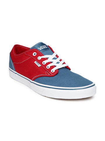Vans Men Red & Blue Atwood Casual Shoes
