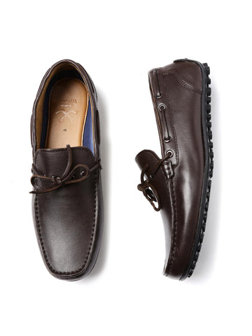 WROGN Men Brown Driving Shoes