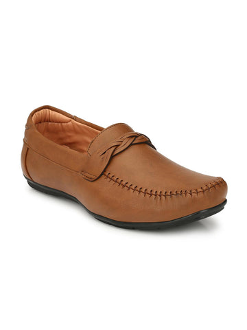 Fentacia Men Tan Loafers