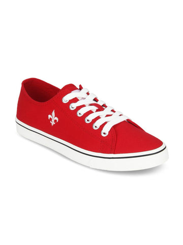 Bond Street By Red Tape Men Red Sneakers