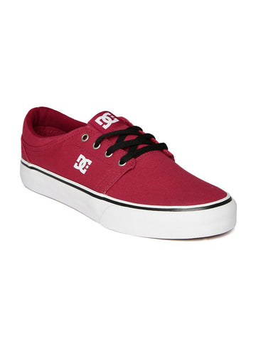 DC Men Red Casual Shoes