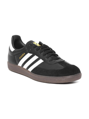Adidas Originals Men Black SAMBA FB Sneakers