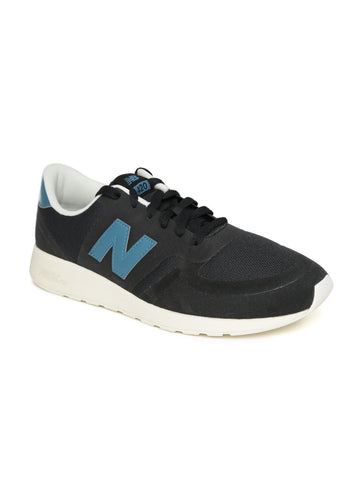 New Balance Men Black Sneakers