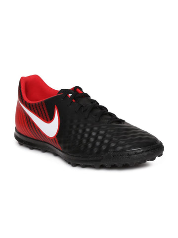 Nike Men Black & Red MAGISTAX OLA II TF Football Shoes