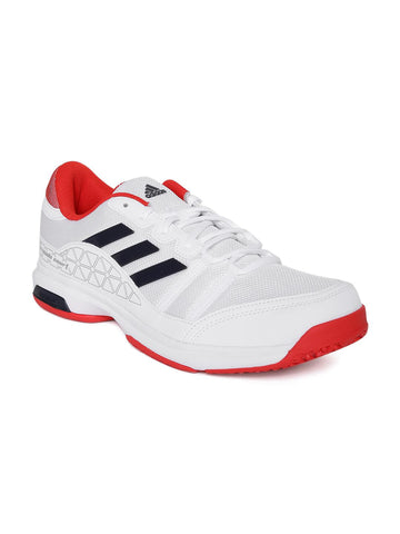 Adidas Unisex White Barricade Court OC Tennis Shoes