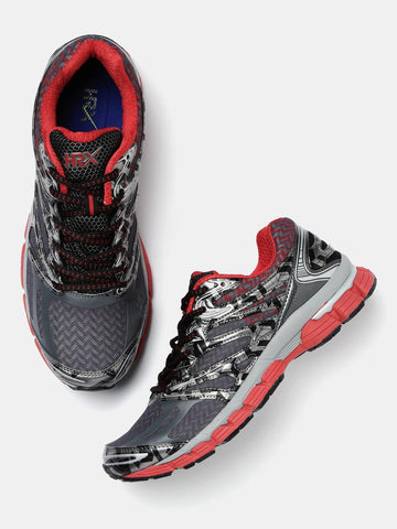 HRX by Hrithik Roshan Men Grey Running Shoes