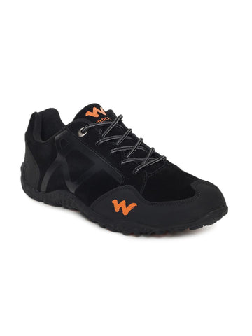 Wildcraft Men Black Trekking Shoes