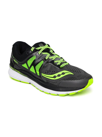 saucony Men Grey Hurricane ISO3 Running Shoes