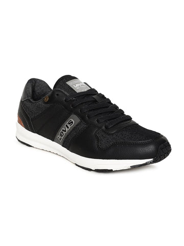 Levis Men Black Sneakers