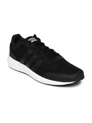 Adidas NEO Men Black Cloudfoam Race Casual Shoes