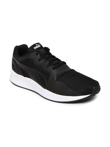 Puma Men Black Pacer Plus Sneakers