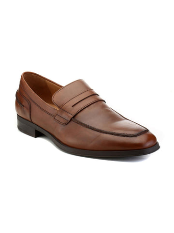 Geox Men Brown Loafers