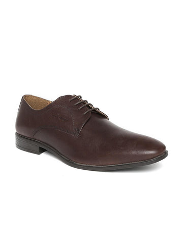 Red Tape Men Brown Leather Formal Shoes