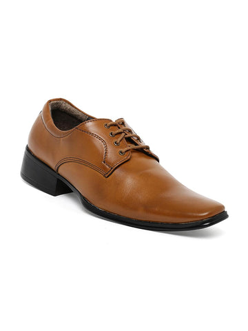 Bruno Manetti Tan Formal Shoes