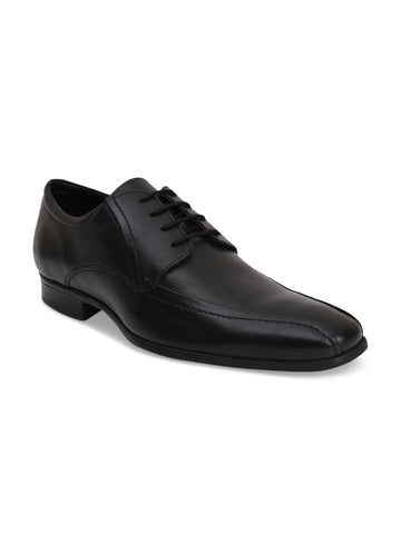 CORE ESPANA Men Black Leather Derbys