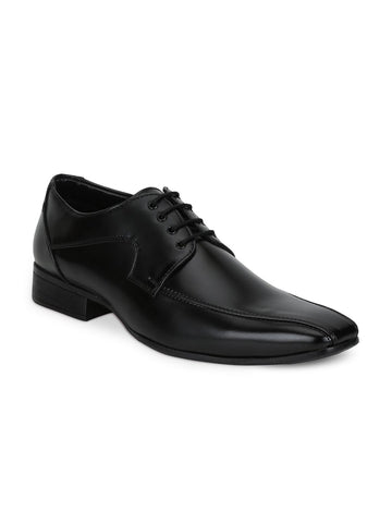 Park Avenue Men Black Formal Derbys