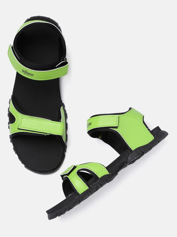 Roadster Men Green Sports Sandals