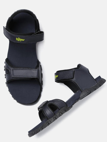 Roadster Men Navy Sports Sandals