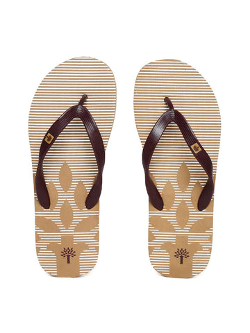 7a52c9e3abee Adidas Men Coffee Brown Ozor MS Printed Flip-Flops – similar ...