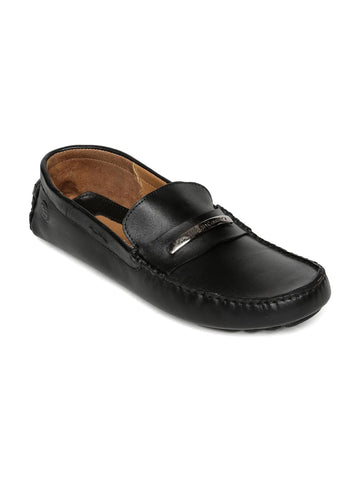 Urban Country Men Black Driving Shoes