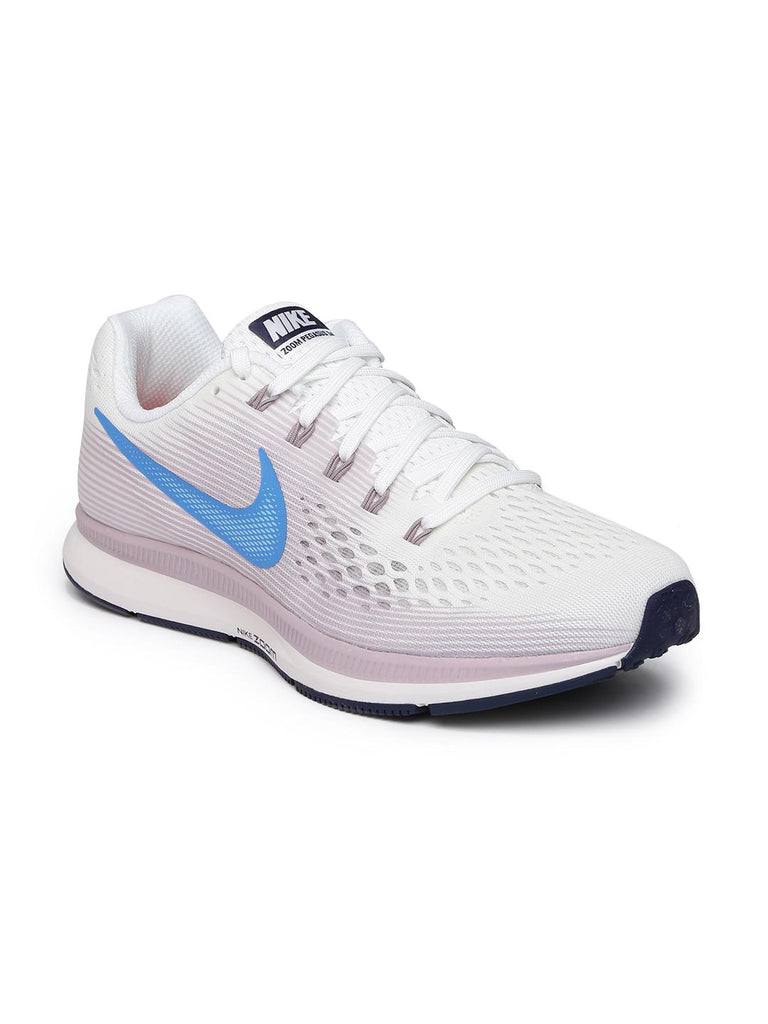 64d20ef52ab Nike Women White   Lavender AIR ZOOM PEGASUS 34 Running Shoes ...