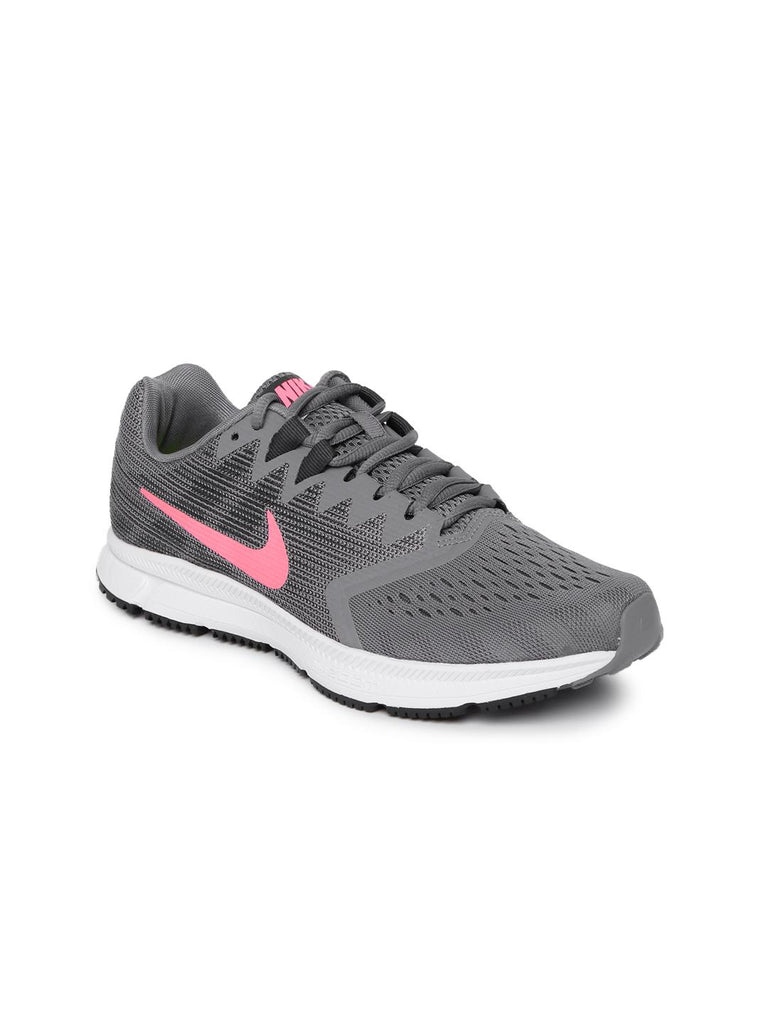 new product 28674 708c5 Nike Women Grey WMNS NIKE ZOOM SPAN 2 Running Shoes