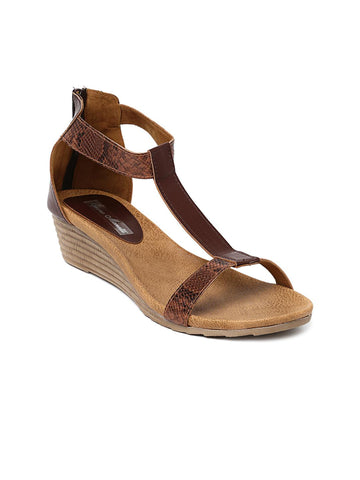 Bruno Manetti Women Brown Wedges