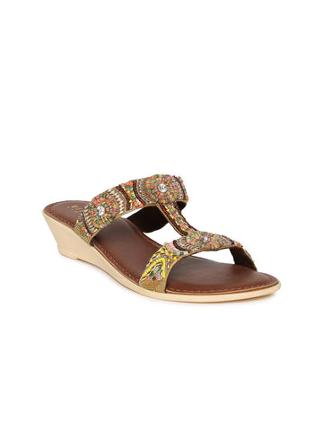 Wet Blue Women Multicoloured Sandals