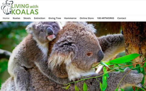 Living With Koalas home page conservation and protection