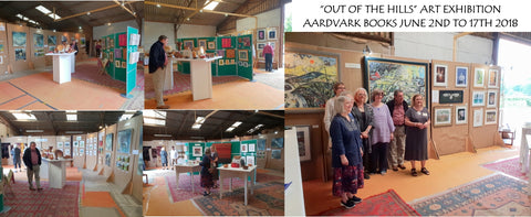 Out of the Hills art exhibition June 2018