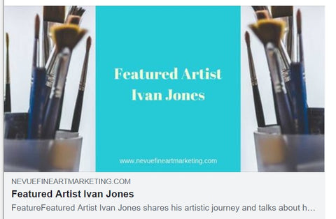 Ivan Jones Art interview Nevue FIne Art